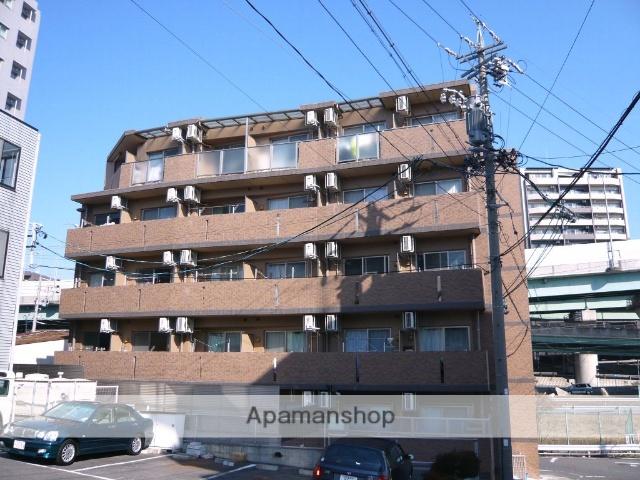 愛知県名古屋市名東区、上社駅徒歩10分の築9年 5階建の賃貸マンション