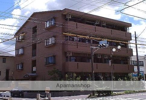 愛知県名古屋市名東区、星ヶ丘駅市バスバス6分極楽下車後徒歩6分の築18年 4階建の賃貸マンション