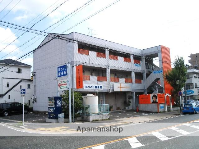 愛知県名古屋市名東区、星ヶ丘駅市バスバス12分勢子坊下車後徒歩7分の築27年 3階建の賃貸アパート