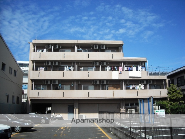 愛知県長久手市、はなみずき通駅徒歩5分の築19年 4階建の賃貸マンション