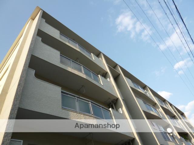 愛知県名古屋市名東区、上社駅徒歩15分の築40年 4階建の賃貸マンション