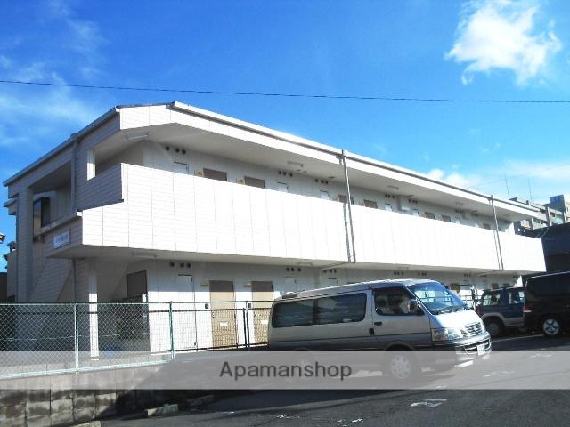 愛知県名古屋市名東区、星ヶ丘駅市バスバス9分高針下車後徒歩4分の築23年 2階建の賃貸マンション