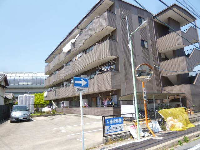 愛知県名古屋市名東区、一社駅徒歩14分の築23年 4階建の賃貸マンション