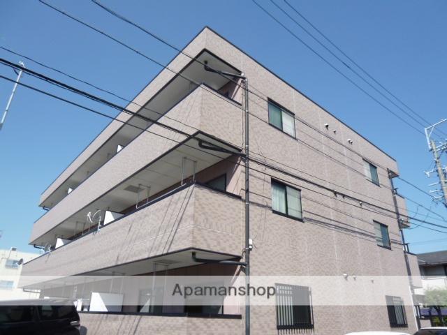 愛知県名古屋市名東区、一社駅市バスバス12分香流小学校下車後徒歩3分の築17年 3階建の賃貸マンション