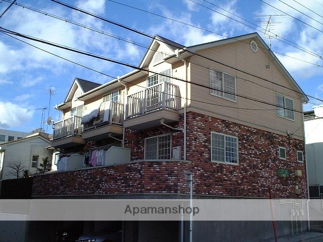 愛知県名古屋市名東区、一社駅徒歩18分の築21年 2階建の賃貸テラスハウス