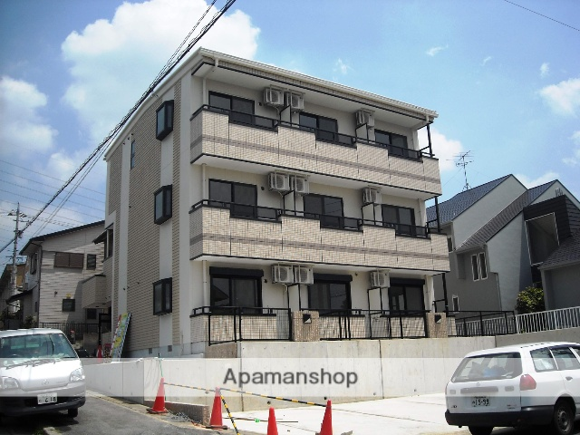 愛知県名古屋市名東区、星ヶ丘駅市バスバス12分勢子坊下車後徒歩7分の築8年 3階建の賃貸マンション