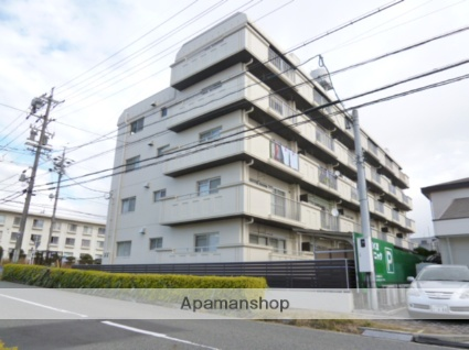 愛知県名古屋市名東区、上社駅徒歩15分の築38年 5階建の賃貸マンション