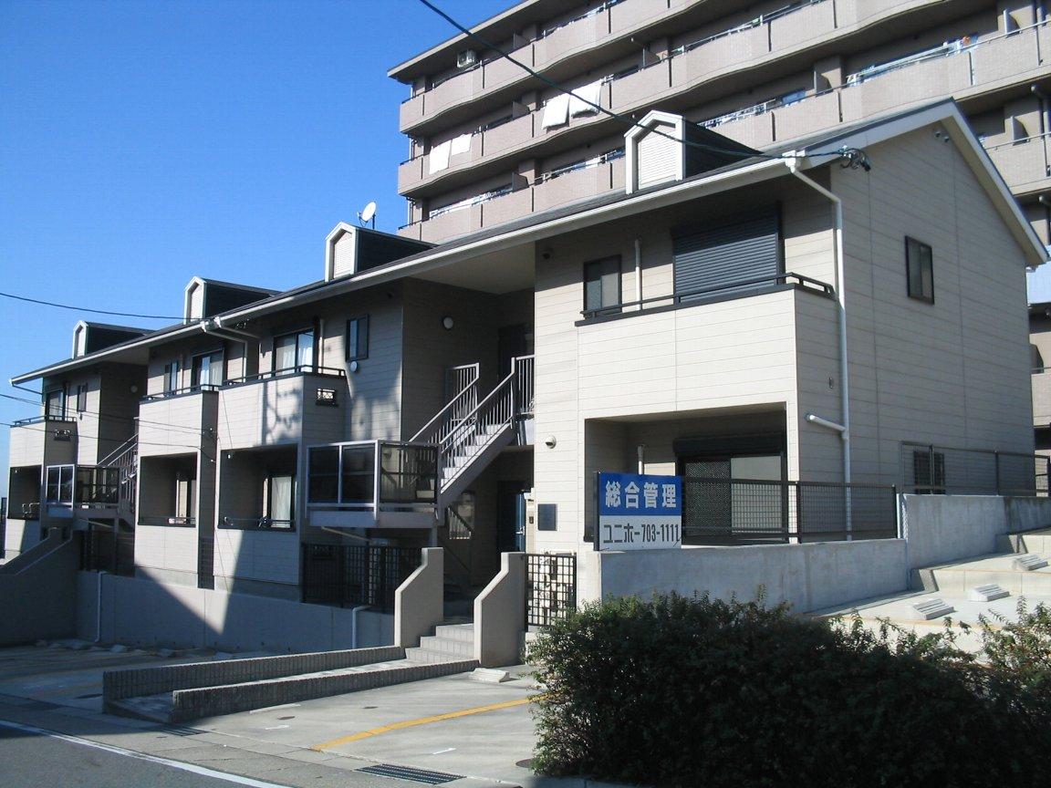 愛知県名古屋市守山区、藤が丘駅市バスバス8分本地住宅下車後徒歩3分の築18年 2階建の賃貸アパート