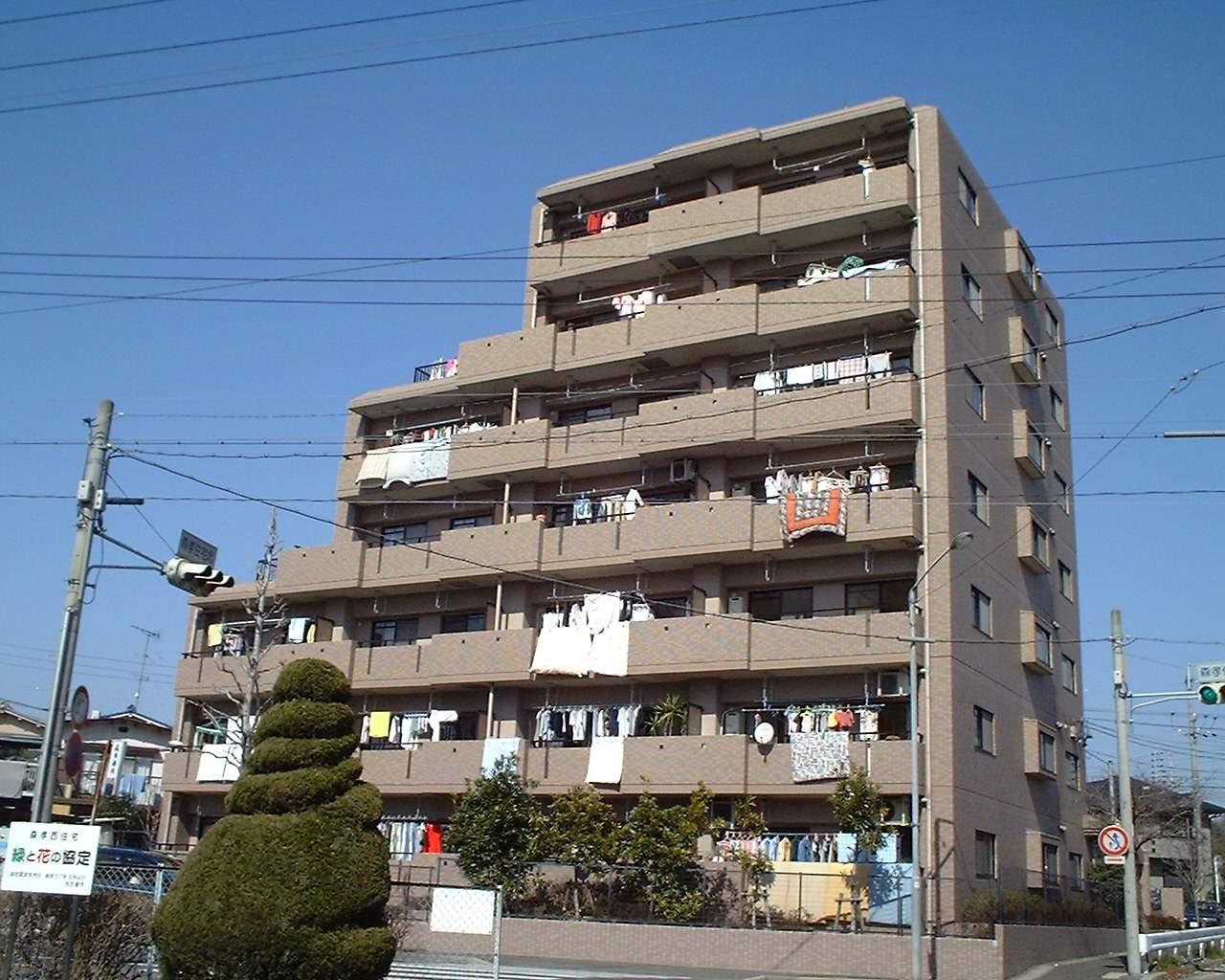 愛知県名古屋市守山区、はなみずき通駅徒歩20分の築23年 7階建の賃貸マンション