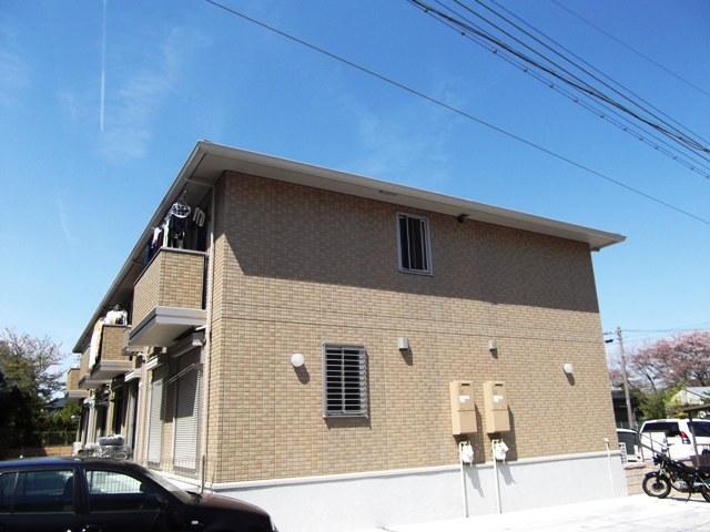 愛知県名古屋市名東区、一社駅市バスバス11分猪子石団地下車後徒歩3分の築6年 2階建の賃貸アパート