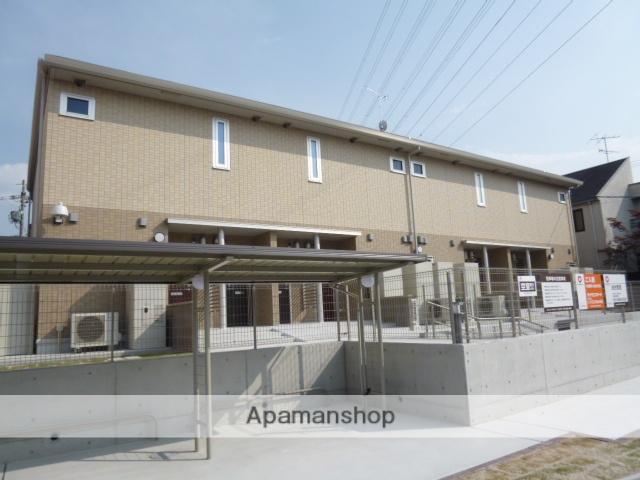 愛知県名古屋市名東区、星ヶ丘駅市バスバス14分極楽西下車後徒歩7分の築5年 2階建の賃貸アパート