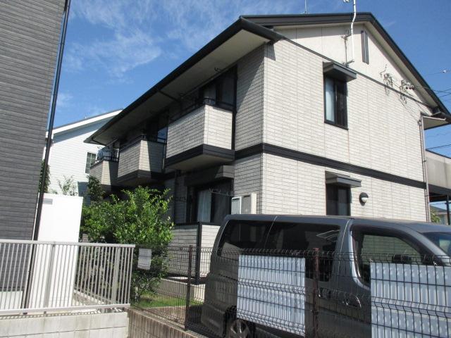 愛知県長久手市、はなみずき通駅徒歩18分の築17年 2階建の賃貸アパート