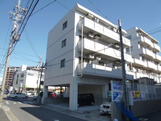 愛知県名古屋市名東区、上社駅徒歩14分の築23年 4階建の賃貸マンション