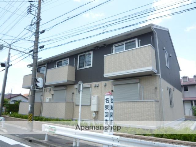 愛知県名古屋市名東区、一社駅徒歩18分の築4年 2階建の賃貸アパート