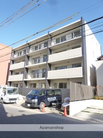 愛知県名古屋市名東区、星ヶ丘駅市バスバス12分新宿下車後徒歩2分の築2年 4階建の賃貸マンション