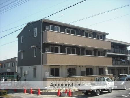 愛知県長久手市、杁ヶ池公園駅徒歩17分の築4年 3階建の賃貸アパート