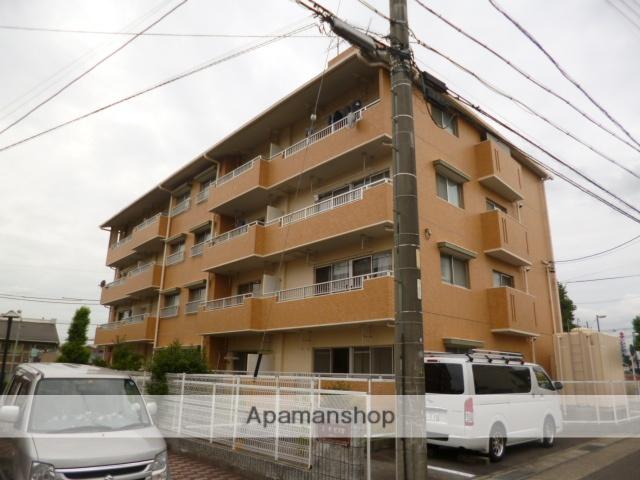 愛知県名古屋市守山区、藤が丘駅徒歩17分の築28年 4階建の賃貸マンション