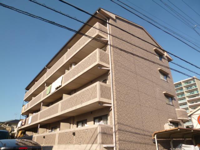 愛知県名古屋市名東区、一社駅市営バスバス15分引山下車後徒歩2分の築20年 4階建の賃貸マンション