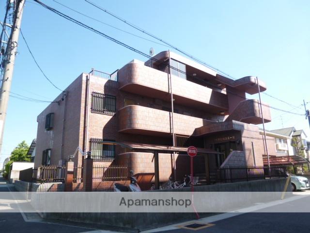 愛知県名古屋市名東区、一社駅徒歩16分の築19年 3階建の賃貸マンション