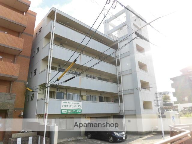 愛知県名古屋市名東区、藤が丘駅徒歩8分の築38年 5階建の賃貸マンション
