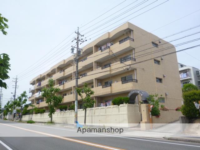 愛知県名古屋市名東区、上社駅徒歩15分の築34年 4階建の賃貸マンション