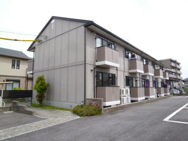 愛知県名古屋市名東区、小幡駅徒歩25分の築18年 2階建の賃貸アパート
