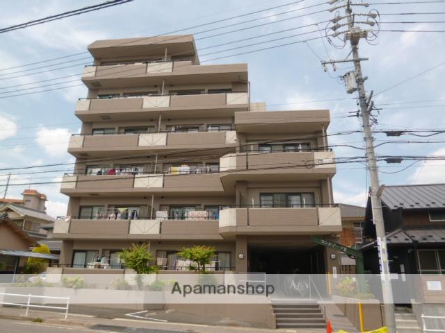 愛知県名古屋市名東区、一社駅徒歩12分の築21年 6階建の賃貸マンション