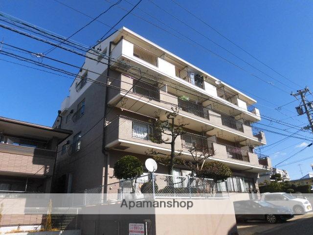 愛知県長久手市、はなみずき通駅徒歩12分の築34年 4階建の賃貸マンション