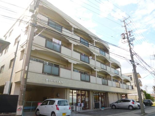 愛知県名古屋市名東区、一社駅徒歩24分の築33年 4階建の賃貸マンション