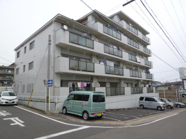 愛知県名古屋市名東区、本郷駅市バスバス15分大針下車後徒歩2分の築28年 5階建の賃貸マンション