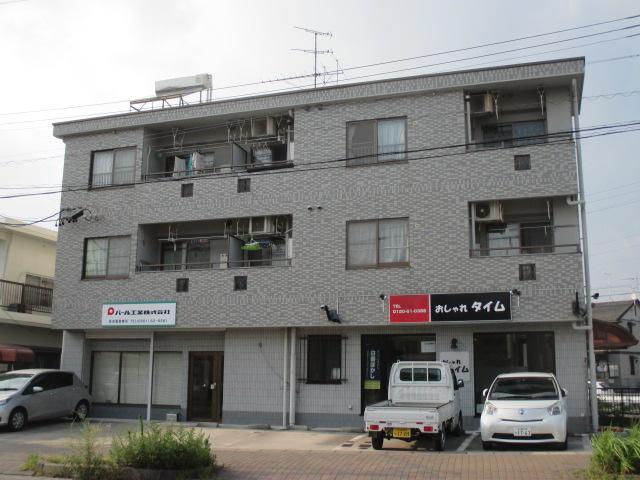 愛知県長久手市、はなみずき通駅徒歩16分の築23年 3階建の賃貸マンション