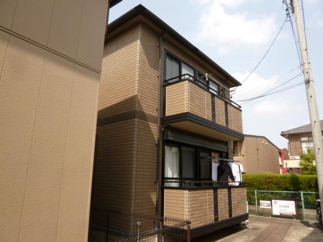 愛知県名古屋市名東区、上社駅徒歩13分の築16年 2階建の賃貸アパート