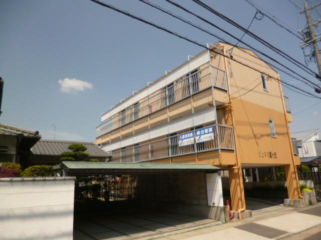 愛知県名古屋市名東区、本郷駅徒歩18分の築23年 3階建の賃貸アパート
