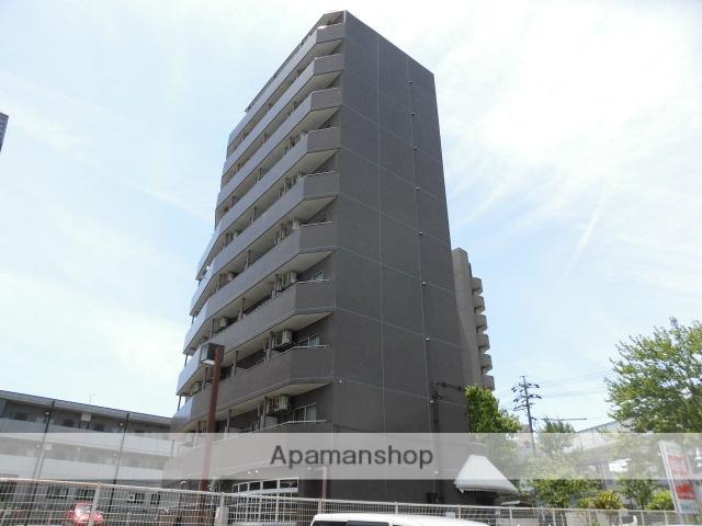 愛知県名古屋市名東区、はなみずき通駅徒歩20分の築28年 10階建の賃貸マンション