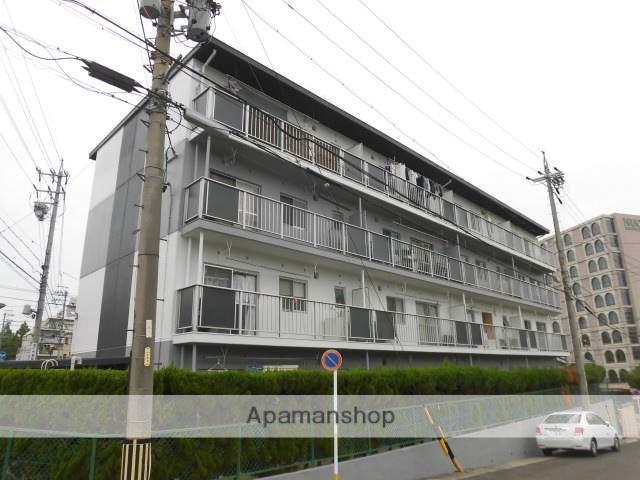 愛知県名古屋市名東区、一社駅徒歩18分の築40年 4階建の賃貸マンション
