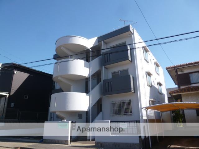愛知県名古屋市名東区、一社駅徒歩17分の築29年 3階建の賃貸マンション