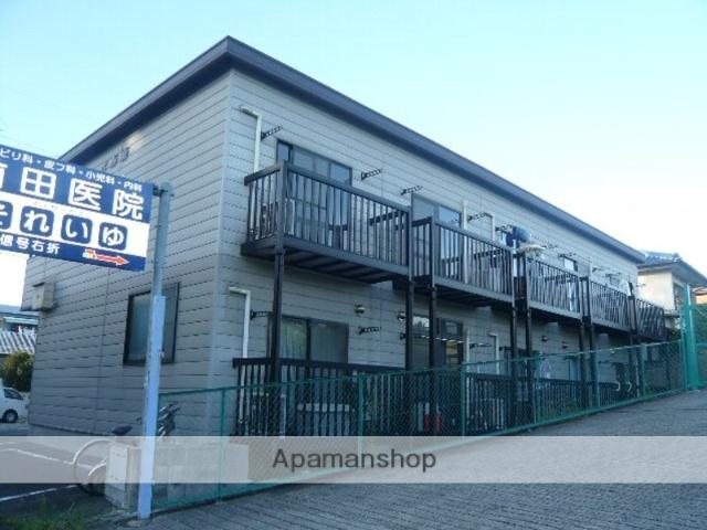 愛知県名古屋市名東区、本郷駅市バスバス18分梅森坂下車後徒歩3分の築18年 2階建の賃貸アパート
