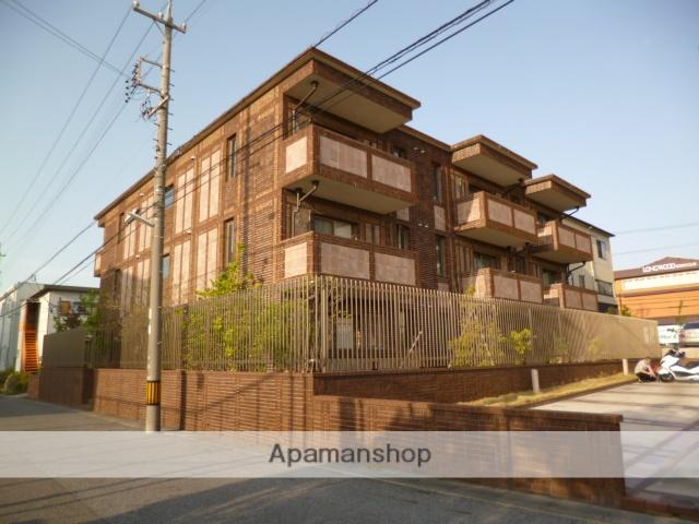愛知県長久手市、はなみずき通駅徒歩19分の築10年 3階建の賃貸マンション
