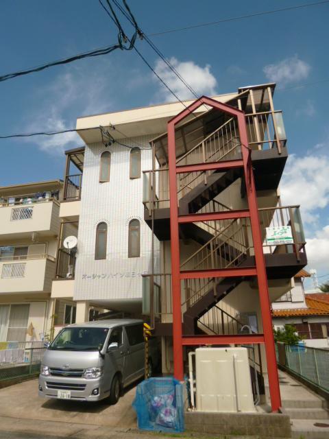 愛知県名古屋市名東区、はなみずき通駅徒歩18分の築38年 3階建の賃貸マンション