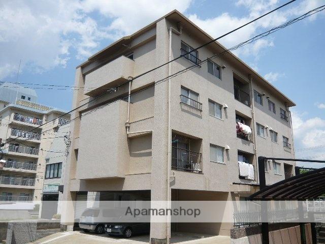 愛知県名古屋市名東区、はなみずき通駅徒歩15分の築43年 4階建の賃貸マンション