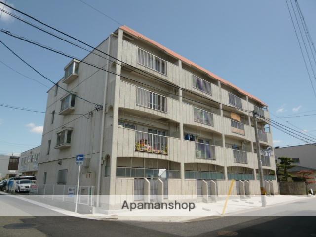 愛知県名古屋市名東区、上社駅徒歩19分の築35年 4階建の賃貸マンション