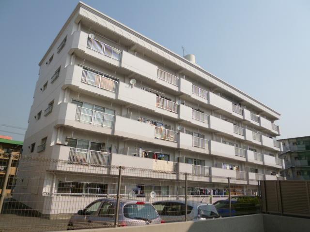 愛知県名古屋市名東区、上社駅徒歩16分の築37年 5階建の賃貸マンション