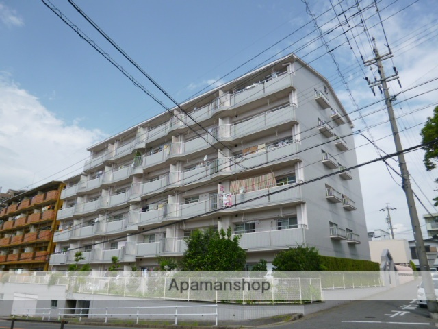 愛知県長久手市、はなみずき通駅徒歩13分の築30年 6階建の賃貸マンション