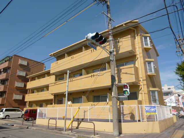 愛知県名古屋市名東区、上社駅徒歩12分の築28年 3階建の賃貸マンション