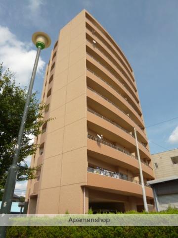 愛知県名古屋市名東区、星ヶ丘駅市バスバス8分新宿下車後徒歩5分の築10年 10階建の賃貸マンション