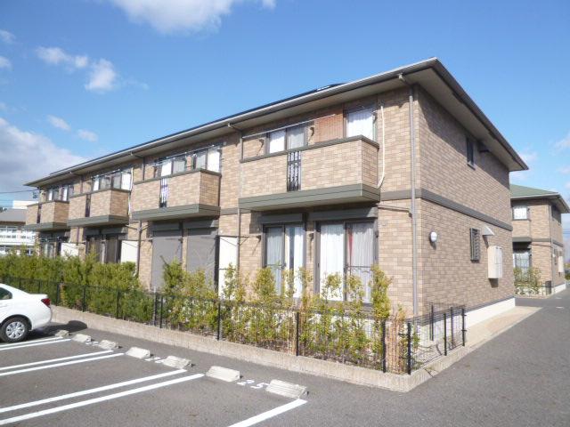 愛知県豊田市、若林駅徒歩13分の築11年 2階建の賃貸アパート