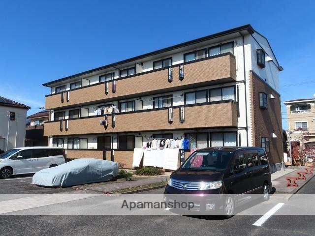 愛知県豊田市、北野桝塚駅徒歩18分の築20年 3階建の賃貸アパート