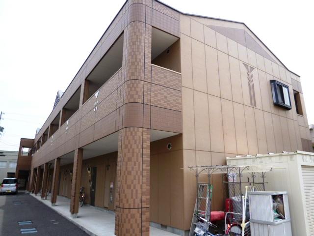 愛知県豊田市、若林駅徒歩6分の築10年 2階建の賃貸アパート