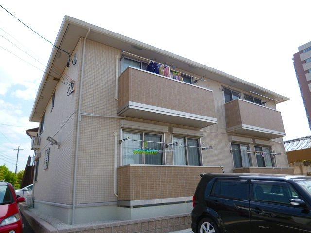 愛知県豊田市、三河豊田駅徒歩15分の築7年 2階建の賃貸アパート