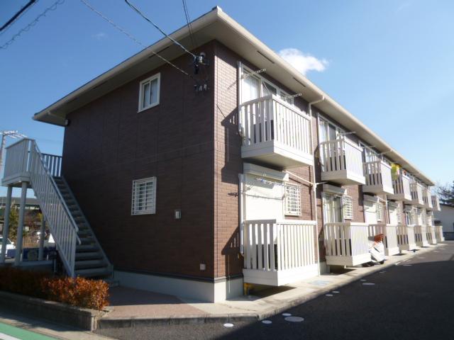 愛知県豊田市、越戸駅徒歩20分の築9年 2階建の賃貸アパート